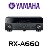 Yamaha RX-A660 7.2-CH Dolby Atmos & DTS:X 4K AVENTAGE AV Receiver