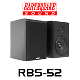 "Earthquake RBS-52 5.25"" Reference Bookshelf Speakers (Pair)"