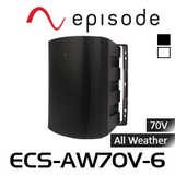 "Episode 6.5"" All Weather Commercial Series 70V Speaker (Each)"