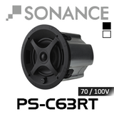 "Sonance PS-C63RT 6.5"" 70/100V 8 Ohm In-Ceiling Speaker (Each)"