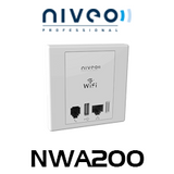 Niveo NWA200 300N PoE In-Wall FAT Access Point