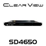 ClearView SD4650 SD/HD Quad Digital Modulator CVBS/YPbPr Inputs