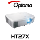 Optoma HT27X Full HD 3D Home Theatre DLP Projector