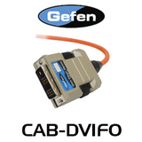 Gefen Single-Link DVI Fiber Optic Integrated Cable (M-M) - 20m