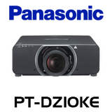 Panasonic PT-DZ10KE WUXGA 10,600 Lumens Dual Lamp 3-Chip DLP Projector
