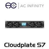 AC Infinity Cloudplate X7 Quad 75mm 2U Rack Cooling Fan w/ Thermal Control