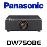 Panasonic PT-DW750BE WXGA 7000 Lumen High Brightness LCD Installation Projector