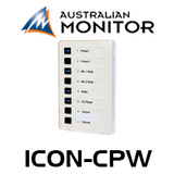 Australian Monitor ICON CP Control Panel For AMD Mixer Amplifiers