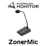 Australian Monitor ZonerMic 16 Zone Microphone Paging Station
