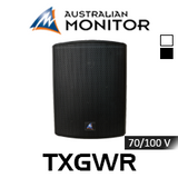 "Australian Monitor TXGWR 5"" 70/100V Weather Resistant Wall Mount Speaker (Each)"
