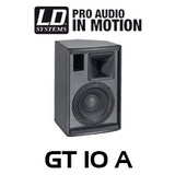 """LD Systems GT10A 10"""" 800W Active Fullrange PA Speaker (Each)"""