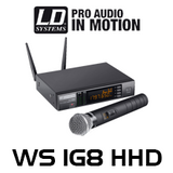 LD Systems 1/2 Receivers 192-Ch UHF Wireless Microphone System (1785 - 1800 MHz)