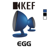 KEF EGG Wireless Digital Music Bluetooth Speakers (Pair)