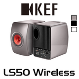 KEF LS50 Wireless Bookshelf Speakers (Pair)