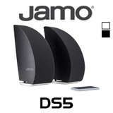 "Jamo DS5 3"" Designer Curved Bluetooth Speakers (Pair)"