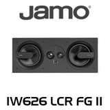 """Jamo IW626 FG II Dual 6.5"""" LCR 3-Way In-Wall Speaker (Each)"""