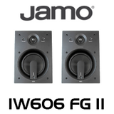 "Jamo IW606 FG II 6.5"" Honeycomb In-Wall Speakers (Pair)"