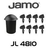 """Jamo JL4810 10"""" Half Burial Subwoofer & Landscape Satellite System Bundle"""
