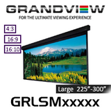 """Grandview Large Stage Series Motorised Projection Screens (225""""-300"""")"""