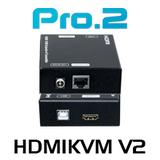 Pro2 HDMIKVM V2 HDMI USB KVM Extender Over IP (100m)