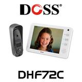 "Doss DHF72C 7"" Hands Free Audio Video Intercom Kit"