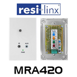 Resi-Linx Local Audio Input Module Wallplate