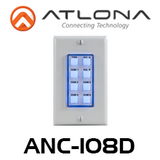 Atlona 8-Button Network Control Panel For IP-Controllable AV Switchers