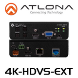 Atlona 4K HDBaseT Kit With 3-Input Switcher, Ethernet, Control & POE