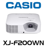 Casio XJ-F200WN 3000 Lumens WXGA Advanced LED Projector