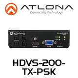 Atlona 3-Input Switcher for HDMI & VGA with Ethernet-Enabed HDBaseT Output (up to 100m)