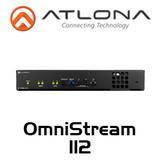 Atlona OmniStream Dual-Channel Networked AV Encoder