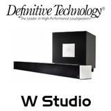 Definitive Technology W Studio 5.1-Ch Soundbar System with Wireless Streaming