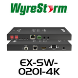 WyreStorm VGA/HDMI Over HDBaseT Extender Set with Ethernet, IR & Serial and 2-Way PoH