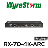 WyreStorm 4K HDMI Over HDBaseT Receiver with ARC (70m)
