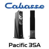 "Cabasse Pacific 3SA Dual 8"" Semi Active 3-Way Floorstanding Speakers (Pair)"