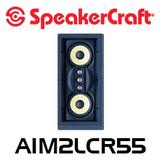 """SpeakerCraft AIM LCR5 FIVE S2 Dual 5.25"""" In-Wall LCR Speaker (Each)"""