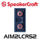 "SpeakerCraft AIM LCR5 TWO S2 Dual 5.25"" In-Wall LCR Speaker (Each)"