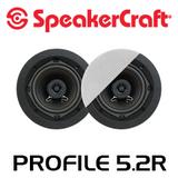 """SpeakerCraft Profile 5.2R 5.25"""" In-Celing Speakers (Pair)"""
