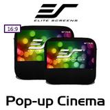 "Elite Screens Pop-Up Cinema 16:9 Portable Projection Screens (84"" / 92"")"