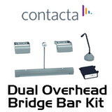 Contacta Dual Overhead Speaker With Recessed Bridge Bar Speech System