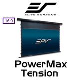 "Elite Screens PowerMax Tension 16:9 Motorised Projection Screens (92-120"")"
