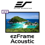 """Elite Screens ezFrame Acoustic 16:9 Fixed Frame Projection Screens (84-150"""")"""