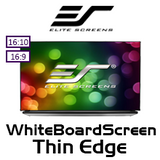 "Elite Screens WhiteBoardScreen Thin Edge Whiteboard Projection Screens (90/97/133"")"