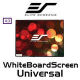 "Elite Screens WhiteBoardScreen Universal 4:3 Whiteboard Projection Screens (30""/58""/77"")"