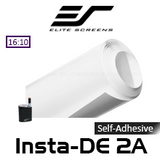 "Elite Screens Insta-DE2A Self-Adhesive Dry-Erase Soft Pad WhiteBoard Projection Screens (114"" / 366"")"