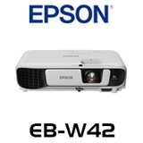 Epson EB-W42 3600 Lumens WXGA 3LCD Corporate Portable Multimedia Projector