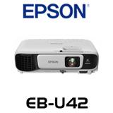 Epson EB-U42 3600 Lumens WUXGA 3LCD Corporate Portable Multimedia Projector