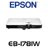 Epson EB-1781W 3200 Lumens WXGA NFC Corporate Portable Multimedia Projector