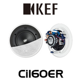 "KEF Ci160ER 6.5"" Uni-Q Ultra Thin Bezel In-Ceiling Speakers (Pair)"