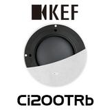 """KEF Ci200TRb 8"""" Ultra Thin Bezel In-Wall Subwoofer (Each)"""
